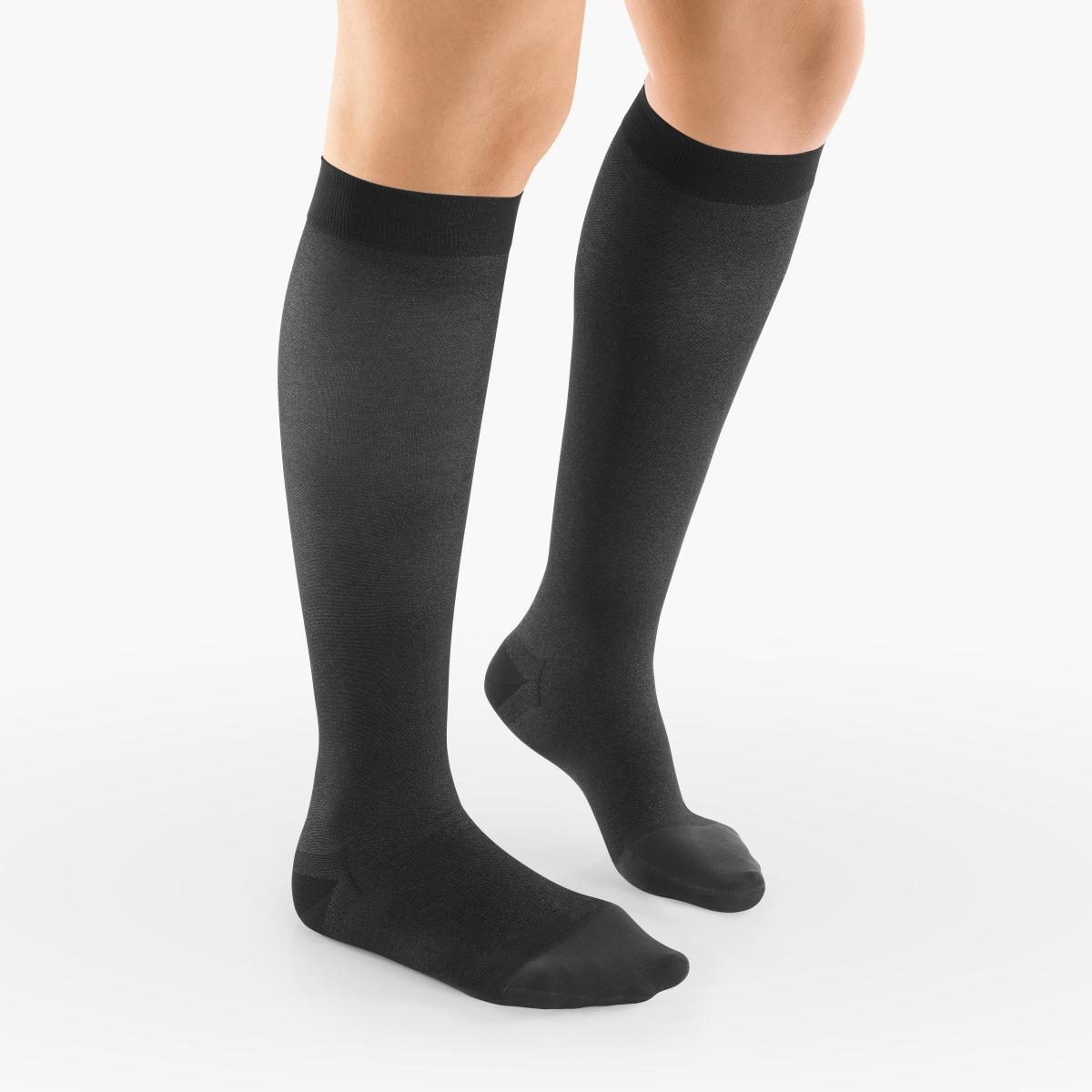 VENOSAN 5000 Below Knee, 20-30 Black, S, Closed Toe Firm 20-30 mmHg   Black   S      Closed Toe   Knit Top