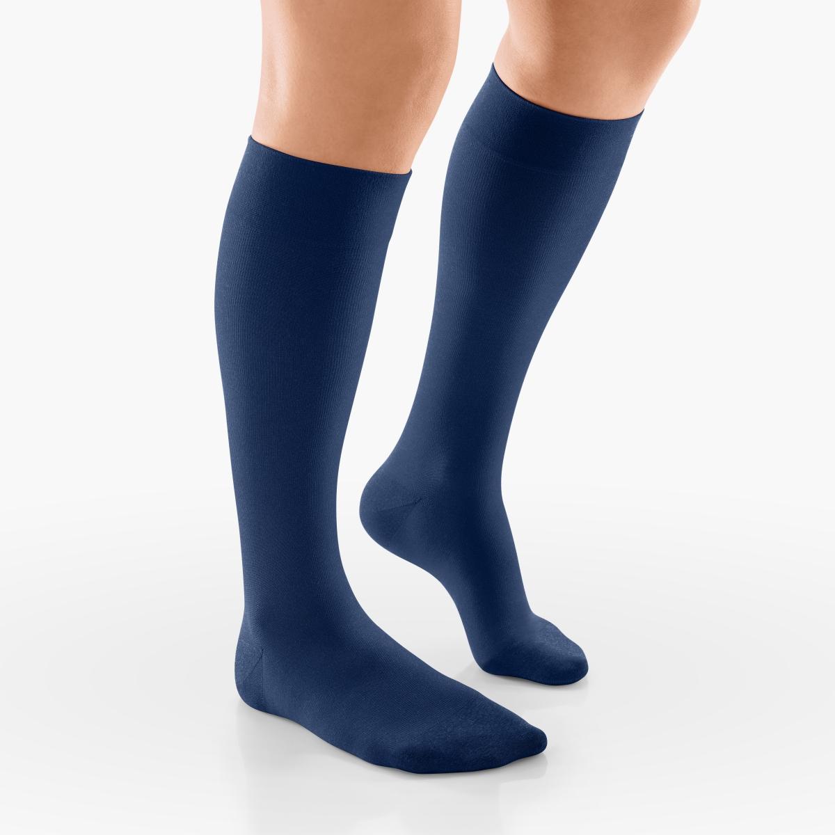 Venosan Silk Support 15-20mm Hg marine Small closed toe Moderate 15-20 mmHg   Marine   S      Closed Toe   Knit Top